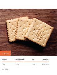 Crouquet hard-dough biscuits
