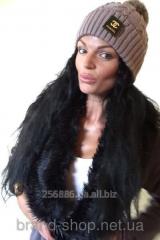 Стильная женская шапочка  Chanel  Yulia Код: ЕМ99