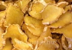 Candied fruits from ginger