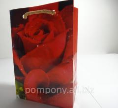 Gift package - pass Roza, the size of 12х8х4 cm