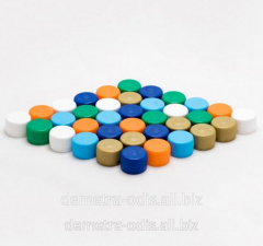 Screw cover on a bottle the sizes: 28 mm, 38 mm,