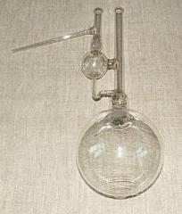 Колби скляні із градуйованою горловиною