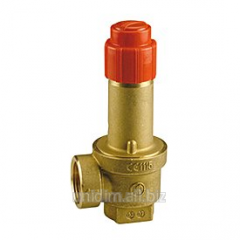 The safety valve with a female thread of Giacomini