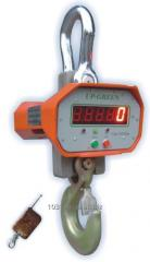 Scales crane electronic 10 t.