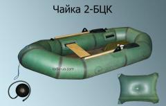 Rubber air boat Chaika 2 BTsK