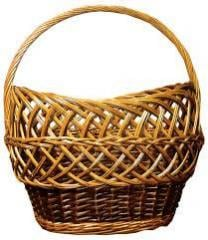 Basket from a rod