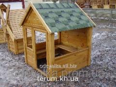 Children's lodge Wooden