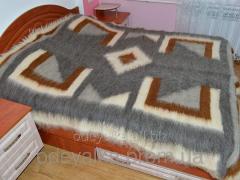 Lyzhnyk Carpathian of 100% of sheep wool 180*210sm