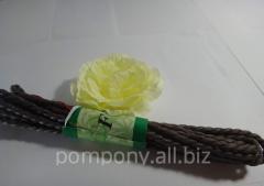 Raffia rope, 2 meters, Black