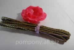 Raffia rope, 2 meters, Brown