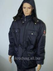 Jacket winter on synthetic winterizer