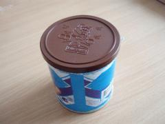 Plastic cover for cans with easy-open