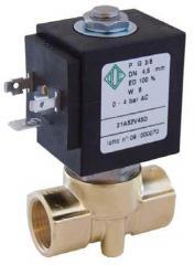 Электромагнитный клапан для воды, воздуха, пара