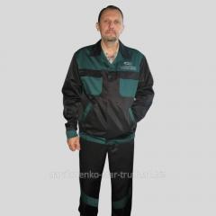 Working suit for men, uniform wholesale in Kiev