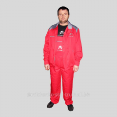 Suits for protection, overalls for welders