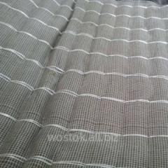 Mat mineral-cotton proshivny fibreglass mesh in a