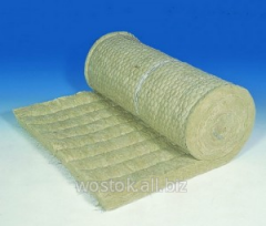 Mat mineral-cotton proshivny a facing - the metal