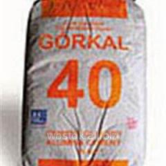 Aluminous fire-resistant Gorkal 40 cemen