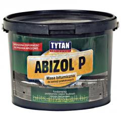 Bituminous mastic for Abizol P waterproofing