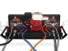 Installation for putting liquid HVLP 2000GX rubber
