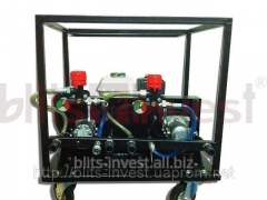 Installation for putting liquid HVLP211GR rubber