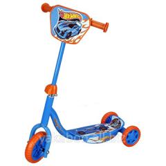 Скутер детский Hot Wheels лицензионный 3-х