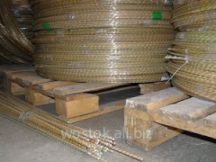 Composite fittings from fiber glass