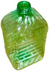 Polyethylene container; PET-container