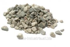 Crushed stone granite loose