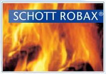 Glass ceramics fire-resistant SCHOTT Robax glass
