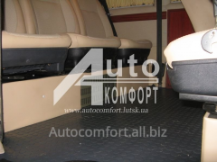 Automobile heater in passenger compartmen