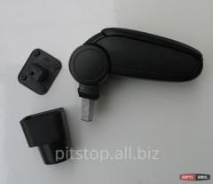 Armrest black ASP vinyl Chevrolet Aveo T250