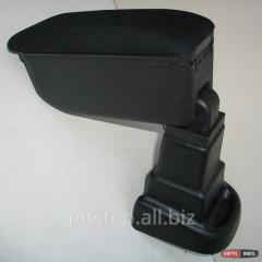 Botec armrest black textile Hyundai I10 64448