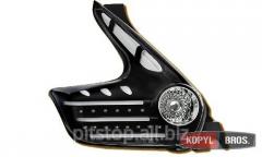 LED optics back black Nissan Juke 60-1346B