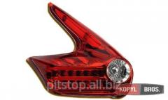 LED optics back red Nissan Juke 60-1346RC
