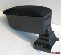 Botec armrest black textile Opel Astra G 63250TB