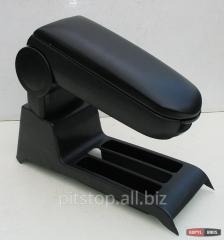 ASP armrest black vinyl with part of the VW Polo