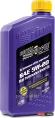 Motor car Royal Purple API 5w-20 oil packing