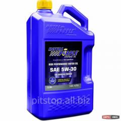 Motor car Royal Purple API 5w-30 oil packing of