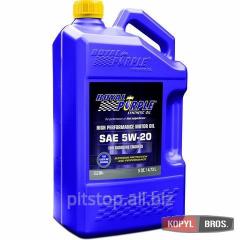 Motor car Royal Purple API 5w-20 oil packing of