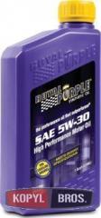 Motor car Royal Purple API 5w-30 oil packing