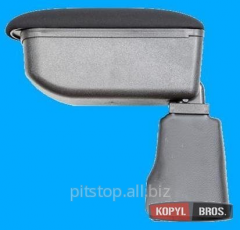Botec armrest black textile Nissan NV200 64502SZ