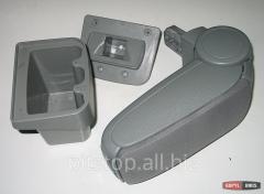ASP armrest gray textile Hyundai Solaris