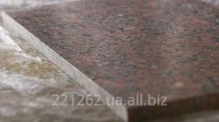 Плитка гранітна облицювальна полірована,
