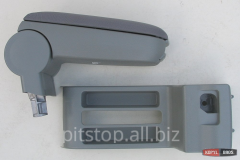 ASP armrest gray textile with part of the VW Polo