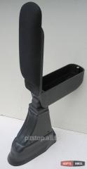 Botec armrest black textile Fiat 500 (2007)