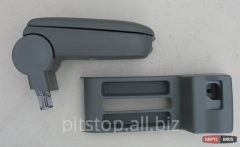 ASP armrest gray vinyl with part of the VW Polo 9N
