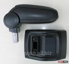 ASP armrest black vinyl Ford Focus 2 BFDFC0520-BL