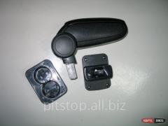 ASP armrest black vinyl VW Polo 9N BVWPL3H20-LB