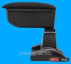 Botec armrest black textile Ford B-Max 64512SZ